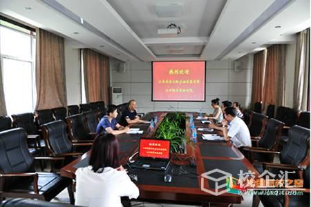 江苏省高速公路石油发展有限公司副总经理王立新一行来大庆职业学院继续教育培训部调研